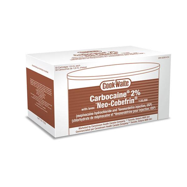 Carbocaine 50/Pk