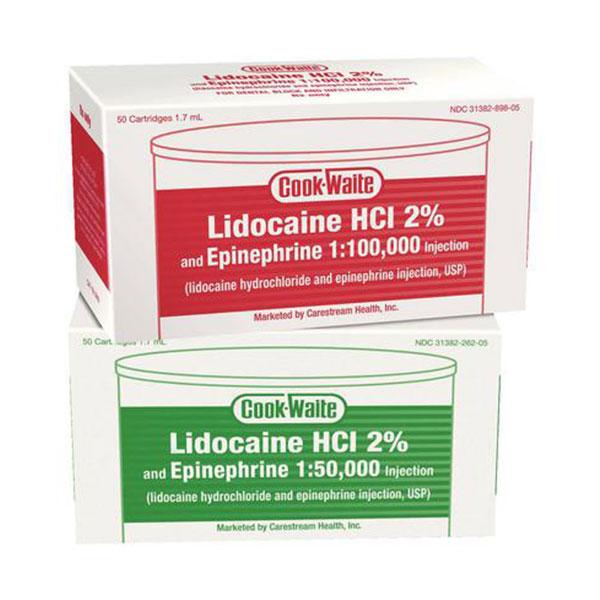 Lidocaine 50/Bx