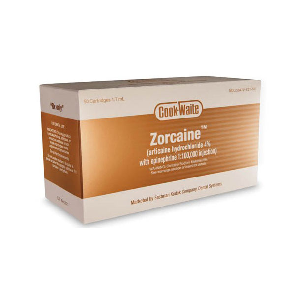 Zorcaine 50/Bx